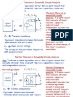 Thevenin and Norton Theorems