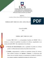 NORMAS ABNT NBR 9126-1:2003; 14598-6:2004, ISO/TS 16949 E QS 9000