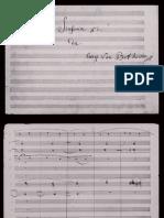 Beethoven - Simfonia 5 en Do m - Manuscrit Sencer
