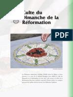 Culte Du Dimanche de La Reformation