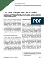 Nota Informativa-skills for Green Jobs