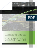 Complete Streets Strathcona - November 2012 Open House Summary Report - Web