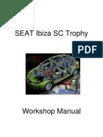 Workshop Manual Ibiza SC Trophy