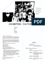 1991 Culture and Representation Exhibiting Cultures