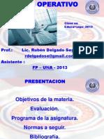 1-Presentacion Sistema Operativo