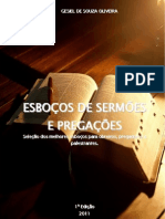 ESBOÇOS DE SERMÕES E PREGAÇÕES - Pr Gesiel de Souza Oliveira