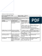 Planificación de Unidad de Aprendizaje Marzo 3°