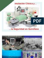Seguridad en Quirofano y Simulacion Clinica