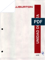 Fichas Técnicas de Equipo Halliburton - Completo