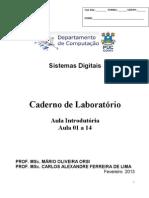 Caderno de Laboratório Sistemas Digitais 2013 1 (1)