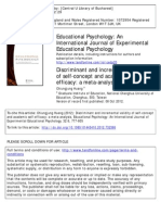 Discriminant and Incremental Validity of Self-concept And