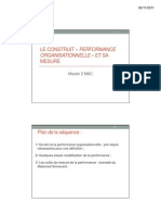 3. Le Construit _ Performance Organisationnelle _