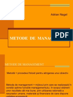 Adrian Nagel - Metode de Management