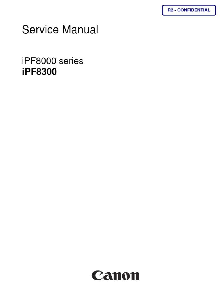 ipf8300 Service Manual pdf | Printer (Computing) | Signal
