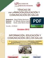 TÉNICAS DE INFORMACIÓN