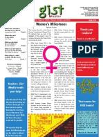 Gist Weekly Issue 14 - Women's Milestones