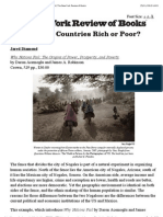 What Makes Countries Rich or Poor