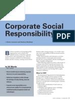 Social Responsibility - Leonard