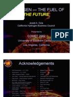 CA Hydrogen Business Council Talk