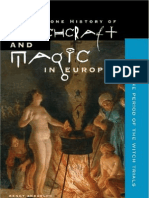 Religion myth and magic the anthropology of religion booklet witchcraft and magic in europe the period of the witch trials fandeluxe Choice Image