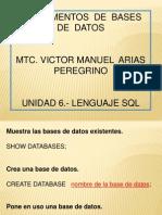Unidad 6.- Lenguaje SQL