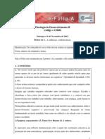 E-Folio APsicologia de Desenvolvimento Nov.12
