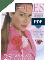- Revista Flores- Flores de Tecido