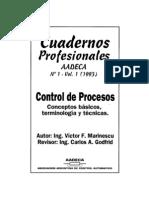 Control de Procesos (Conceptos Basicos, Terminologia y Tecnicas)