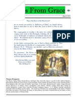 Grace Newsletter March 2013