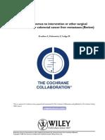 Cochrane Evidence in Liver Metastases Treatment