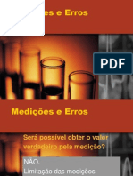 Medições e Erros