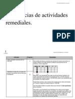 Remediales U1_ 4º