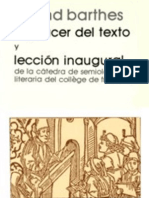 119589101-Roland Barthes - El Placer Del Texto