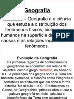 Geografia - Evolução.ppt