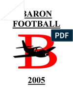 2005 Baron HS Split Back Veer Option Offense