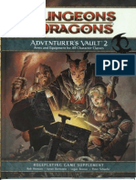 D&D 4th Edition - Adventurer's Vault 2