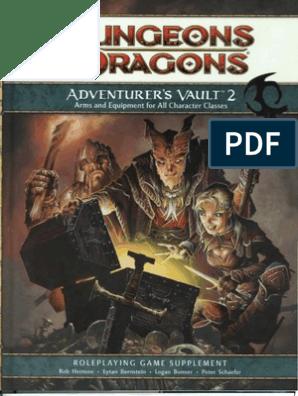 D&D 4th Edition - Adventurer's Vault 2 | Dungeons & Dragons