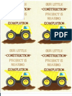 Little Construction Project