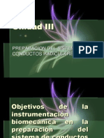 ENDODONCIA Unidad 3 PREPARACION DEL SISTEMA DECONDUCTOS RADICULARES