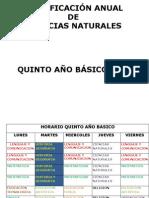 planificacionanualcienciasnaturalesquintoao2013-130106065511-phpapp02