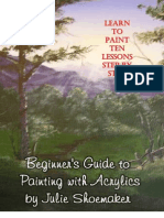 Step by Step Lesson in Acrylic Paint