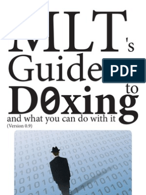 MLT's Guide to D0xing | Cyberspace | Computing
