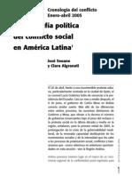 La Geografia Del Conflicto Social en America Latina
