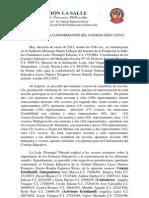 ACTA CONFORMACIÓN DEL CONSEJO EDUCCATIVO