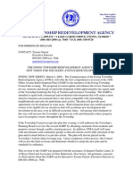 02-28-09 Olden Avenue Redevelopment Press Release