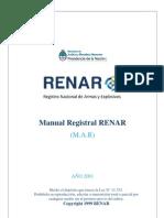 Manual Registral RENAR (MAR)