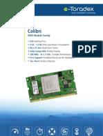 Colibri Product Flyer