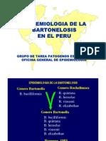 Epidemiologia de La Bartonelosis en Peru