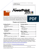 Powerpoint Manual