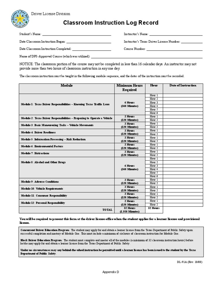 documents needed for texas drivers license test